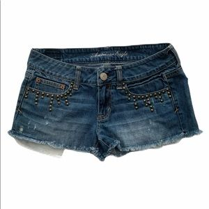 American Eagle Outfitters DenimDistressed Shorts